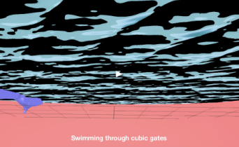 Swimming Through Cubic Gates // Lily Fei, Michelle Guterman, Liliana Farber // US